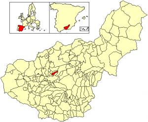 Localización Alfacar
