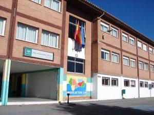 Fachada Colegio Público de Educación Infantil y Primaria Marín Ocete