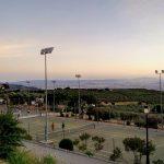 Vistas de Granada desde la Ciudad Deportiva Federico García Lorca