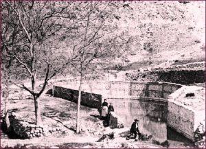 Fuente Grande en Alfacar. Imagen histórica