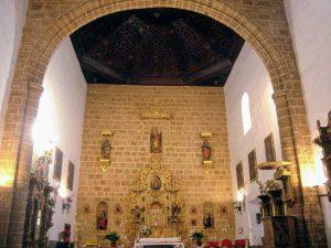 Interior de la Iglesia de la Asunción, Alfacar