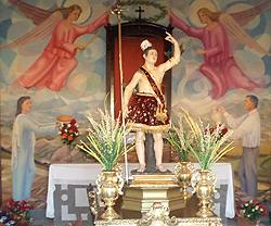 Imagen de la Ermita de San Sebastián de Alfacar