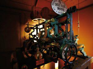 Maquinaria del reloj de la Iglesia de Alfacar