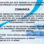 Información Oficina de Atención a los Consumidores y Usuarios de Alfacar.